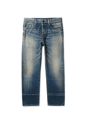 SAINT LAURENT - Slim-Fit Denim Jeans - Men - Blue