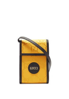 Gucci - Off The Grid Gg-jacquard Canvas Cross-body Bag - Mens - Yellow