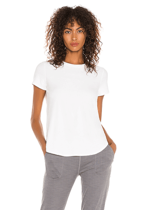 Beyond Yoga On The Low Tee in White. Size S,XS.