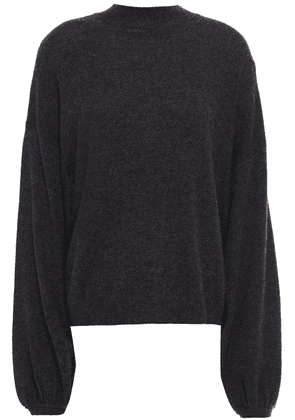 Autumn Cashmere Mélange Cashmere Sweater Woman Charcoal Size S