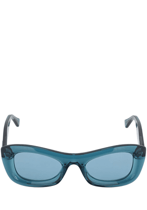 Bv1088s Rounded Acetate Sunglasses
