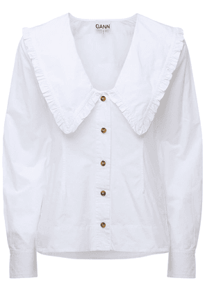 Organic Cotton Poplin Shirt