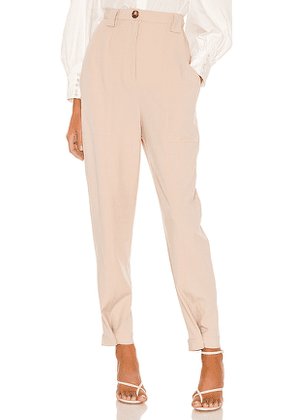 C/MEO Advice Pant in Tan. Size XS,M,L.