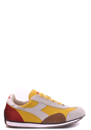 DIADORA MEN'S MCBI20427 YELLOW FABRIC SNEAKERS