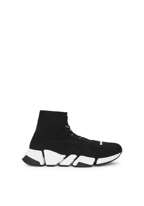 Balenciaga Speed 2.0 Black Stretch-knit Sneakers
