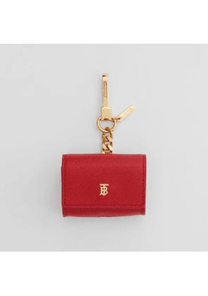 Burberry Grainy Leather AirPods Pro Case, Red