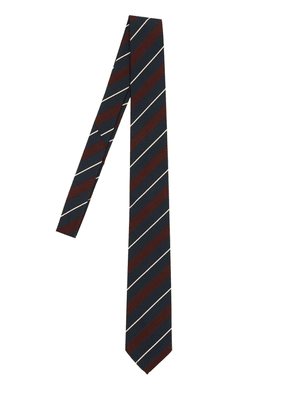 7cm Regimental Striped Silk Blend Tie
