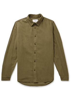 Folk - Cotton-Corduroy Shirt - Men - Brown
