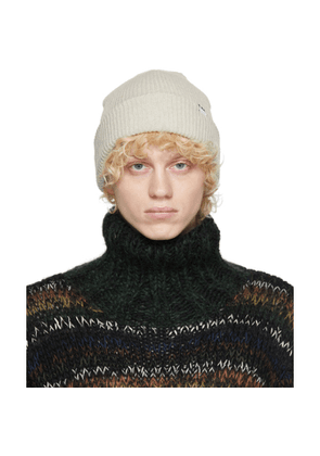 Wood Wood Off-White Mande Beanie