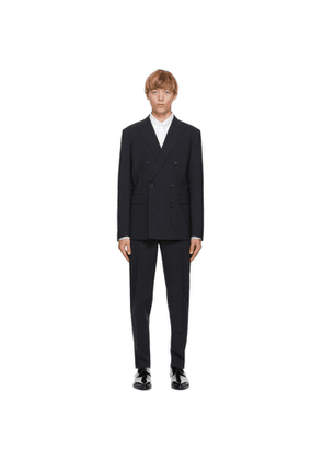 Dsquared2 Navy Tropical Wool Boston Fit Suit