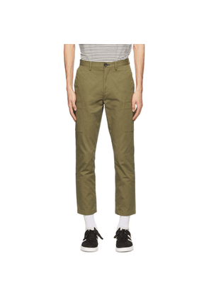 PS by Paul Smith Green Cotton Cargo Pants