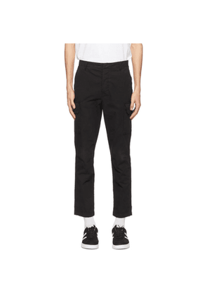 PS by Paul Smith Black Cotton Cargo Pants