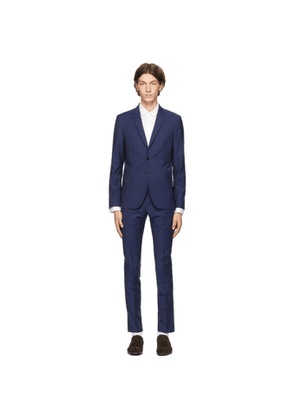 PS by Paul Smith Blue Wool and Mohair Suit