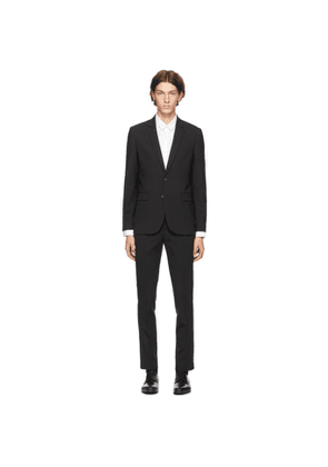 PS by Paul Smith Black Wool Suit