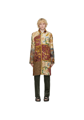 By Walid Multicolor Ecclesiastical Panel Rufus Coat