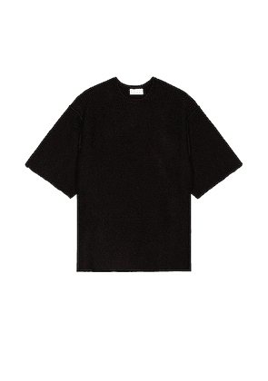 Fear of God Exclusively for Ermenegildo Zegna Knitted Sweater in Black - Black. Size 44 (also in 46,48,52,54).