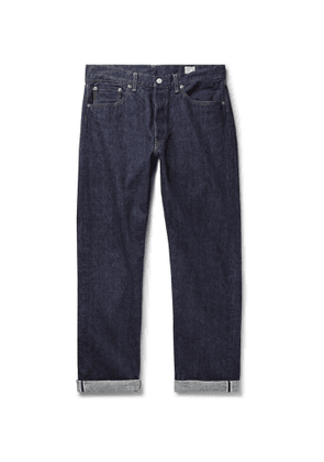 OrSlow - 105 Selvedge Denim Jeans - Men - Blue