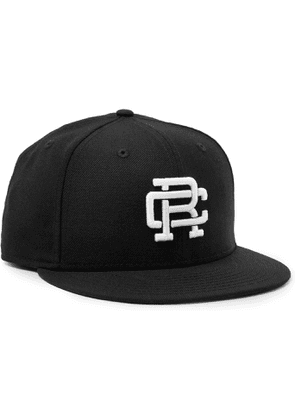 Reigning Champ - New Era 59FIFTY Logo-Embroidered Wool-Twill Baseball Cap - Men - Black