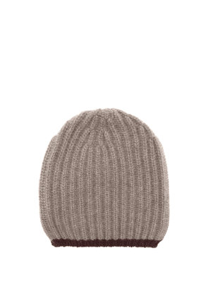 Begg X Co - Ribbed Cashmere Beanie Hat - Mens - Brown