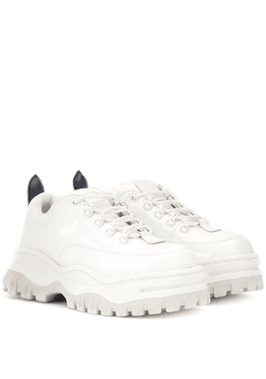 Angel patent leather sneakers