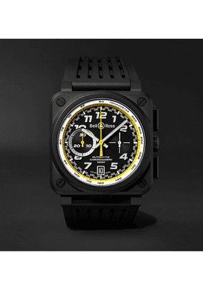 Bell & Ross - BR 03-94 R.S.20 Renault Limited Edition Automatic Chronograph 42mm Ceramic and Rubber Watch - Men - Yellow
