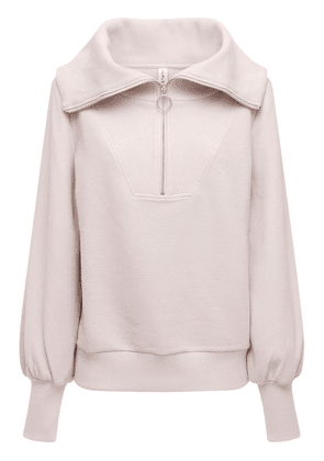 Vine Cotton Blend Half Zip Sweatshirt