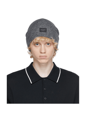 rag and bone Grey Addison Beanie