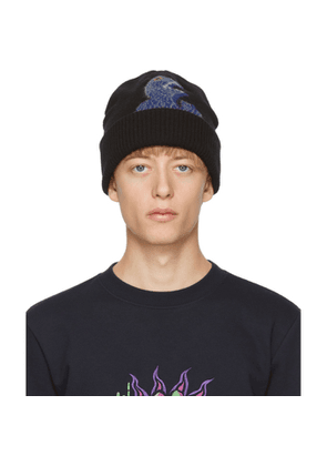 PS by Paul Smith Black Dino Beanie