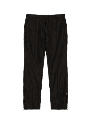 Raf Simons Slim Fit Pants With Ankle Zips in Black - Black. Size 46 (also in 48,50).