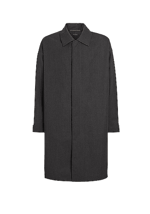 Fear of God Exclusively for Ermenegildo Zegna Trench Coat in Anthracite - Gray. Size 46 (also in 48,50,52).