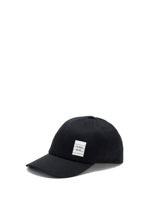 Thom Browne - Logo-patch Cotton-twill Baseball Cap - Mens - Navy