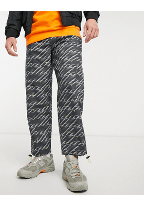 Blood Brother waterloo printed trousers in multi