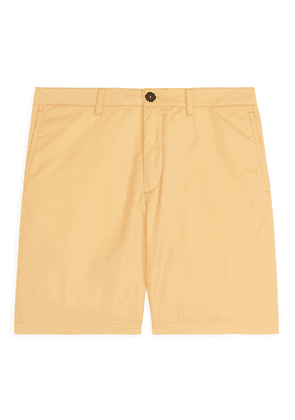 Cotton Shorts - Yellow