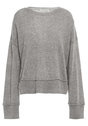 Autumn Cashmere Mélange Cashmere Sweater Woman Gray Size M