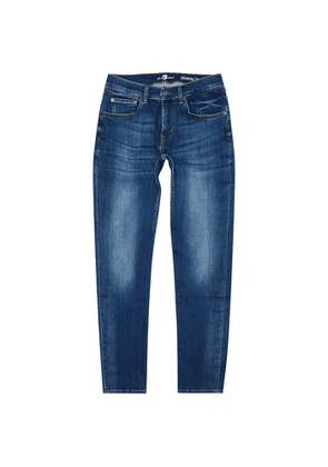 7 For All Mankind Slimmy Tapered Slim-leg Jeans