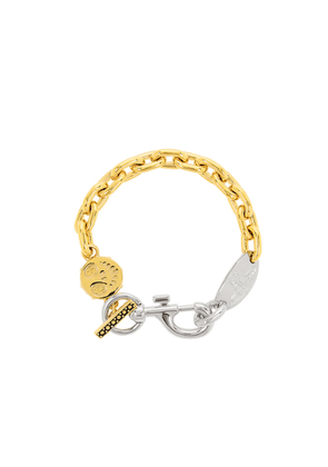 Vivienne Westwood Mariano Gold And Silver-tone Chain Bracelet