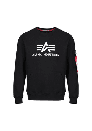 Alpha Industries 3d Logo Sweater Black