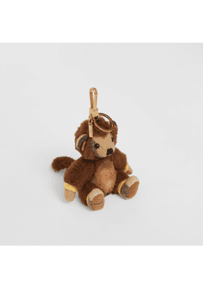 Burberry Thomas Bear Charm in Monkey Costume, Beige