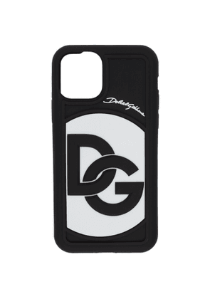 Dolce and Gabbana Black and White DG Crossover Logo iPhone 11 Pro Case
