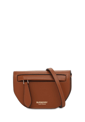 Micro Olympia Leather Shoulder Bag