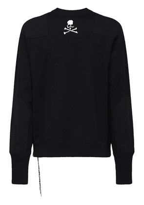 Cotton Sweatshirt W/detail