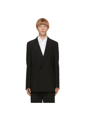 Paul Smith Black Gents Double-Breasted Blazer