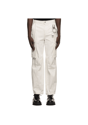 Wooyoungmi Off-White Denim Cargo Pants