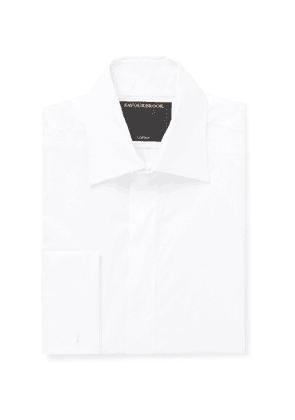 Favourbrook - Gatsby Slim-Fit Cotton-Poplin Shirt - Men - White