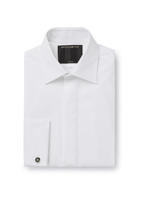 Favourbrook - Bib-Front Marcella Cotton-Poplin Shirt - Men - White