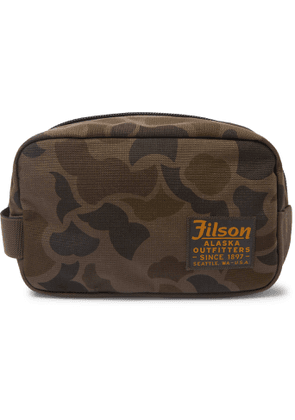 FILSON - Limited Edition Camouflage-Print CORDURA Nylon Wash Bag - Men - Green