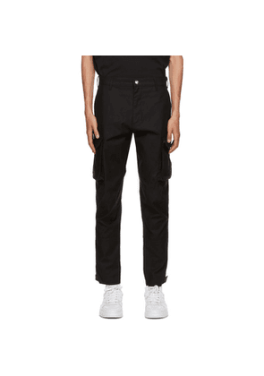 Givenchy Black Cargo Pants