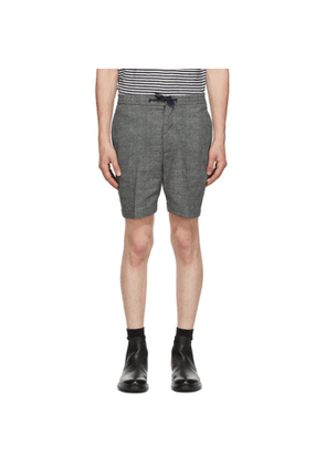 Officine Generale Navy and White Phil Shorts