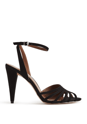 Reiss Garbo - Strappy High Heeled Sandals in Black, Womens, Size 3