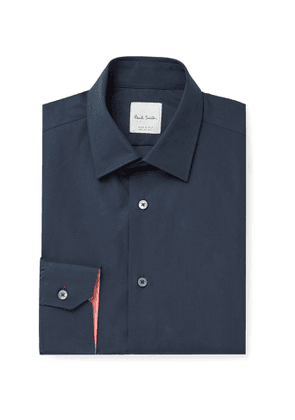 Paul Smith - Soho Slim-Fit Cotton-Poplin Shirt - Men - Blue